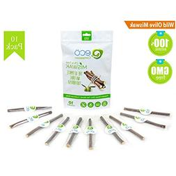 10 Wild Olive Miswak Sticks by Eco Compassion - 100% Natural
