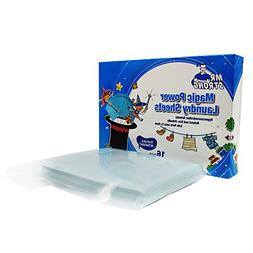 16 Count Travel Laundry Sheets Detergent-Scented Super Conde