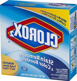 Clorox 2 Laundry Stain Remover and Color Booster Powder, 30.