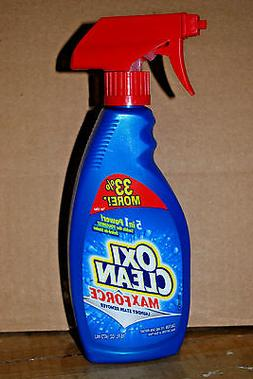 2 BOTTLES OXI CLEAN MAX FORCE LAUNDRY STAIN REMOVER 16 oz ea