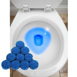 24 Automatic Bleach Toilet Bowl Cleaner Stain Remover Blue T