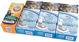 3 Boxes of Alfapet Kitty Cat Sifting Extra Giant Litter Box