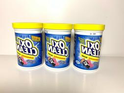 3-Pack Lot Oxi Clean Versatile Stain Remover Laundry Deterge