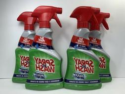 4 Spray 'n Wash MAX Laundry Stain Remover, with Oxi Action,