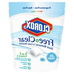 Clorox 2 Free & Clear Laundry Stain Remover and Color Booste