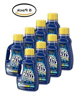 PACK OF 8 - OxiClean HD Sparkling Fresh Scent Liquid Laundry