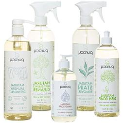 Puracy Organic Home Care Set , Natural Household Cleaners &