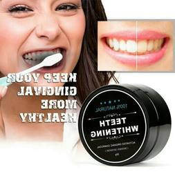 Activated Organic Charcoal Teeth Whitening Powder Toothpaste