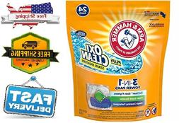 Arm & Hammer Plus OxiClean HE 3-in-1 Laundry Power Paks, 50