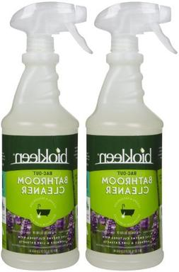 Biokleen Bac-Out Bathroom Cleaner, Lavender/Lime, 32 oz-2 pa