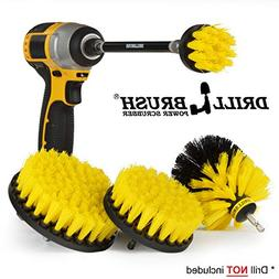 Bathroom Accessories – Drill Brush - Scrub Brush Kit with