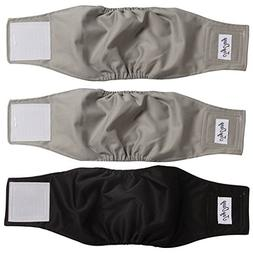 JoyDaog Belly Bands for Male Dogs, Washable Dog Diapers Reus