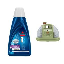 BISSELL 1400B Multi-Purpose Portable Carpet Cleaner, Green &
