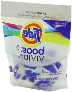 Tide Boost Vivid White + Bright He In-Wash Booster 10 Count