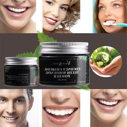 Brand New Charcoal Teeth Cleasing Power Oral Hygiene Cleanin