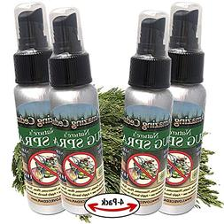 Natural Bug Spray No DEET Insect Repellent Made with Organic