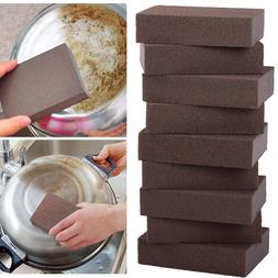 Carborundum Sponge Brush Kitchen Cleaning Washing Tool Rust