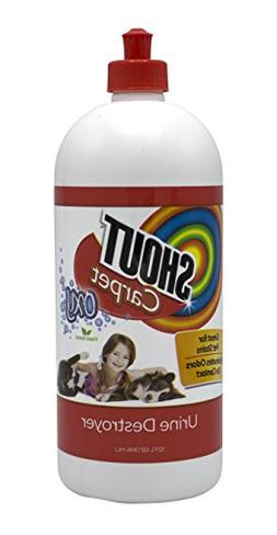 Shout Carpet Urine Destroyer with Oxy | Carpet Cleaner, Pet