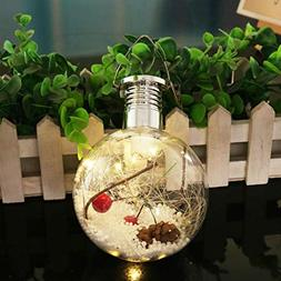 Gotian Christmas Decorative LED Light Lamp, Outdoor Sun Copp