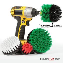 Drillbrush Cleaning Brush Drill Attachment Kit - Drill Power