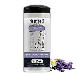 Natural Dog Refresh Cleaning Wipes Lavender Chamomile Remove