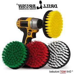 Drill Brush - Cleaning Supplies - Power Scrubber Brush Varie