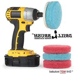 Drill Brush - Scrub Pads - Bathroom Accessories - Cleaning S