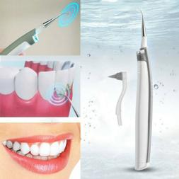 Electric Ultrasonic Tooth Stain Eraser Remover Teeth Whiteni