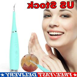 Electric Ultrasonic Tooth Stain Remover Teeth Whitening Dent