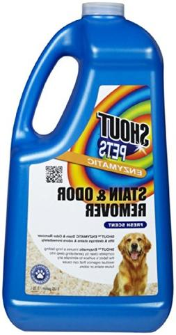Shout Pets Enzymatic Stain and Odor Remover - Fresh Scent -
