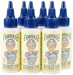 Grandma's Secret Fabric Spot Remover-Pack of 6, Clear, 6 Pie