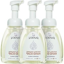 Puracy Natural Foaming Hand Soap , Sulfate-Free Hand Wash, L