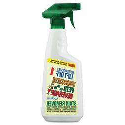 No. 1 Food, Drink & Pet Stain Remover, 22oz Spray, Sold as 1
