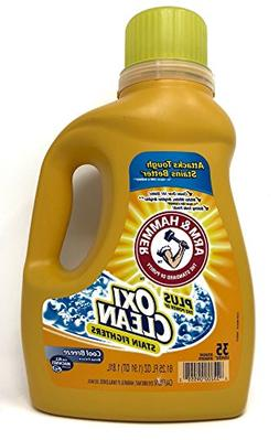 Arm & Hammer HE Liquid Concentrate Plus OxiClean, Cool Breez