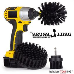 Heavy Duty Drill Powered Cleaning Brush Kit Used for Grill C