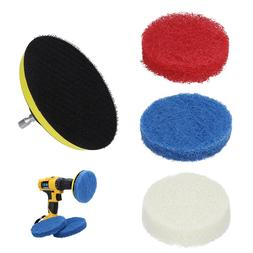 Hot Sale Power Scrubber Drill Plate Brushes Household Cleani