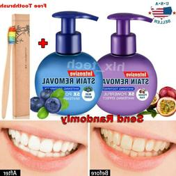 Intensive Stain Removal Teeth Whitening Toothpaste Fight Ble