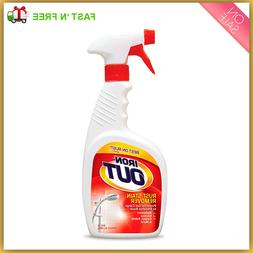 iron out metal rust stain remover spray
