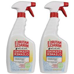 Nature's Miracle Just for Cats Foaming Cleaner, Lemon Orchar
