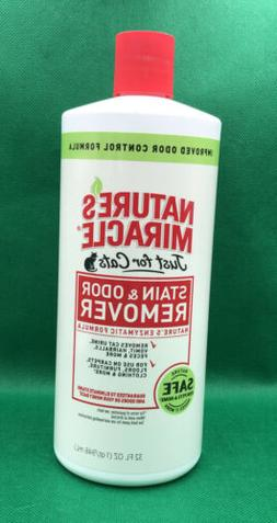 Natures Miracle Just For Cats Stain and Odor Remover 32oz