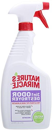 Nature's Miracle 3-in-1 Odor Destroyer, Unscented, 24-Ounce