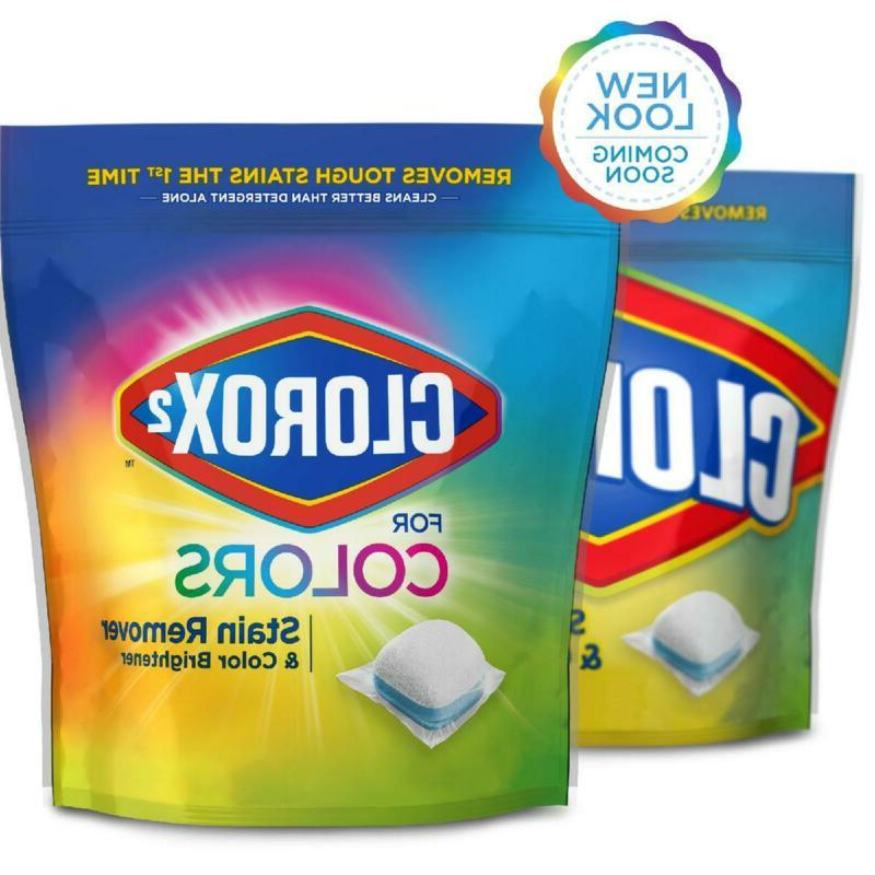 Clorox Stain and Brightener Packs, 40 Count