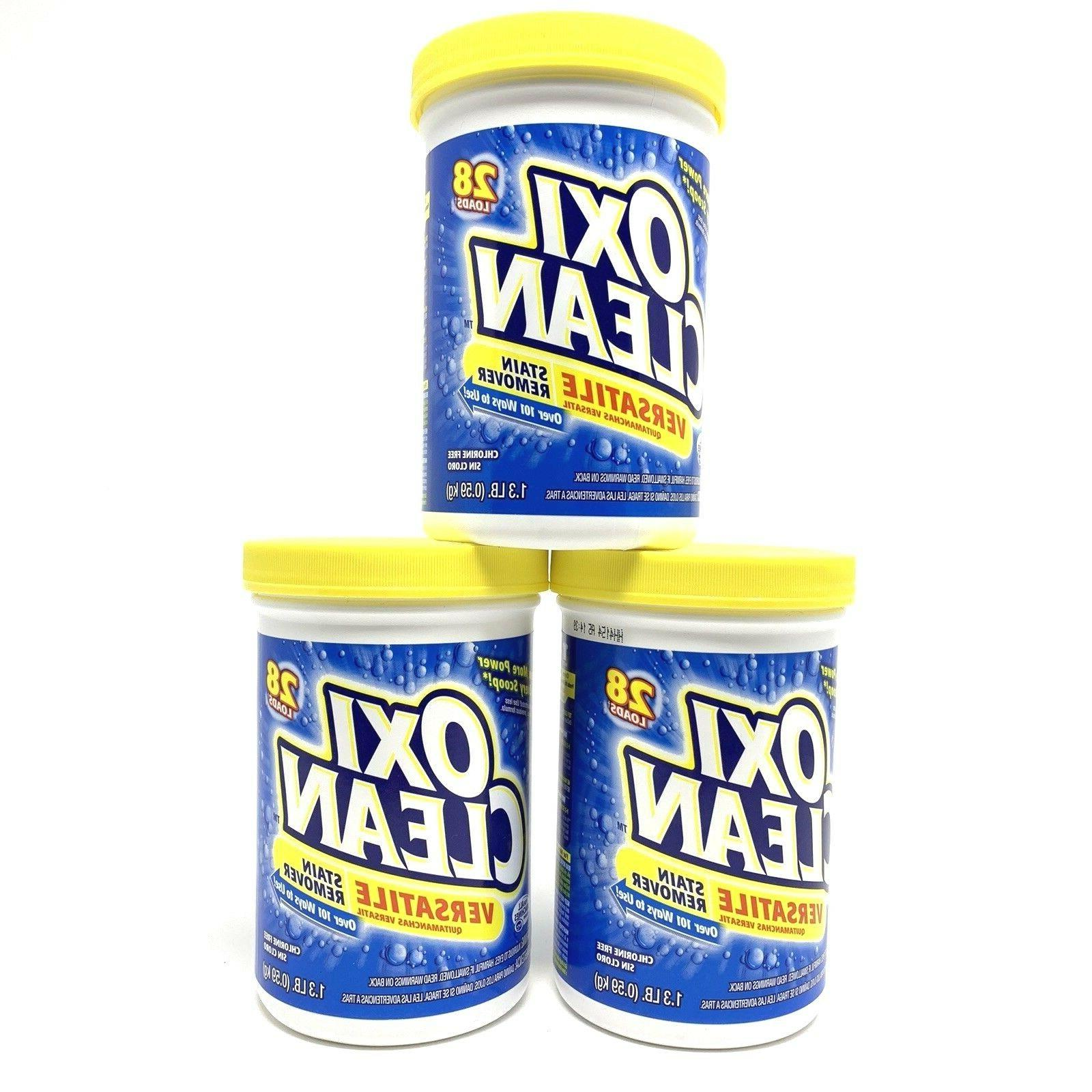 3 pack lot versatile stain remover 3