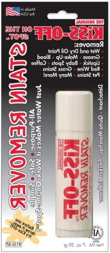General Pencil - Kiss Off Stain Remover 1/Pkg-0.7 Ounces