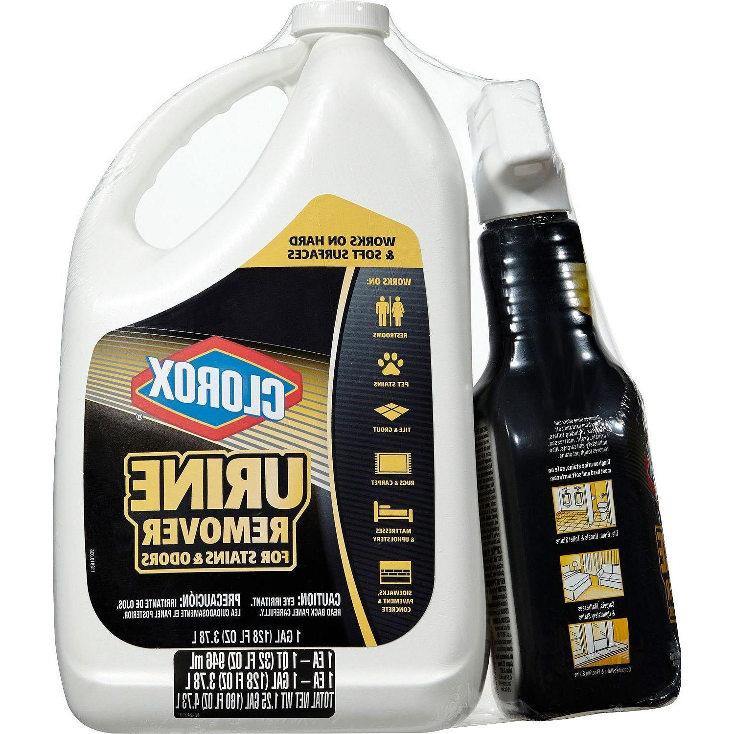 Clorox Remover Stains oz Spray and 128 oz