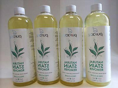 New, Puracy Natural Stain Remover, Free & Clear, 25 fl oz