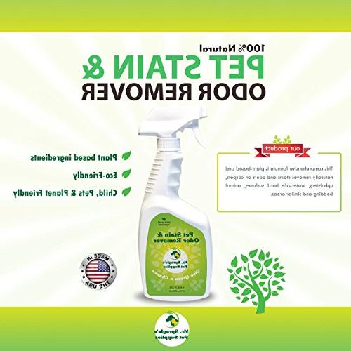Pet Stain Remover, Animal Stain Cleaner, Pet Odor Remover -