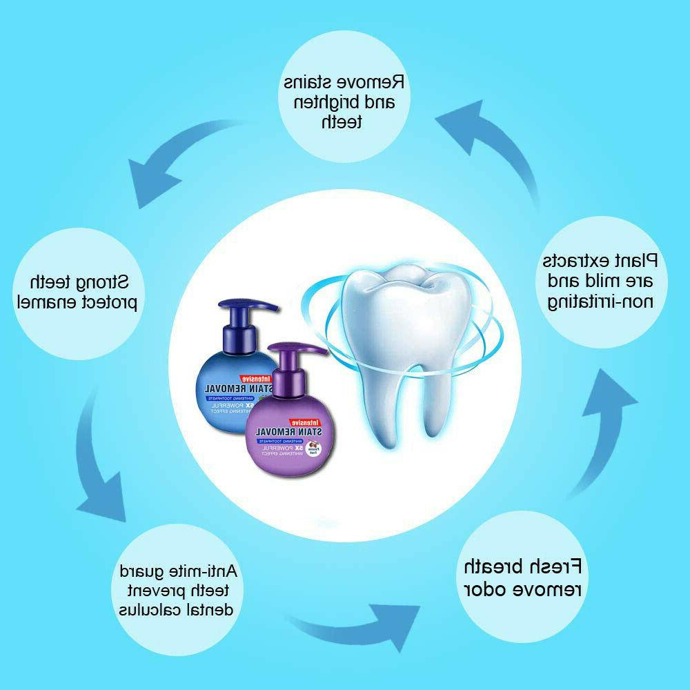 Baking Toothpaste Intensive Stain Removal Gums