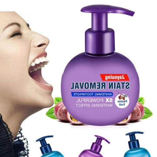 baking toothpaste intensive stain remover teeth whitening