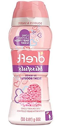 Dreft Blissfuls In-Wash Scent Booster Beads, Baby Fresh Scen